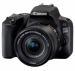 Цены на Canon Зеркальный фотоаппарат EOS 200D Kit EF - S 18 - 55mm f/ 3.5 - 5.6 IS STM Чёрный Тип камеры зеркальная Объектив Поддержка сменных объективов байонет Canon EF/ EF - S Объектив в комплекте есть,   модель уточняйте у продавца Матрица Общее число пикселов 25.8 млн Ч