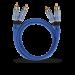 Цены на 2RCA  -  2RCA межблочный кабель OEHLBACH 2703 3.0 м