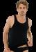 Цены на Удобная и стильная мужская майка из хлопка черного цвета SCHIESSER 205428шис Черный SCHIESSER  -  Превосходное облегание тела  -  Все вырезы обработаны кантом,   не растянутся со временем  -  Выгодная стоимость Модель майки от бренда Schiesser представляет собой