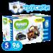 Цены на Huggies Disney 5 для мальчиков Особенности  -  Индикатор наполнения,   Назначение  -  Универсальные,   Тип  -  Трусики,   Пол  -  Для мальчиков,   Вес ребенка  -  13 - 17,   Количество в упаковке  -  96,   Вес ребенка  -  от 13 кг,   Вес упаковки  -  4.4