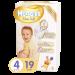 Цены на Huggies Elite Soft 4 Тип  -  Подгузники,   Вес упаковки  -  0.69,   Вес ребенка  -  8 - 14,   Пол  -  Для мальчиков и девочек,   Назначение  -  Универсальные,   Количество в упаковке  -  19,   Особенности  -  Индикатор наполнения,   Вес ребенка  -  от 8 кг