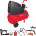 Цены на Fubag Garden master kit OL195/ 24  +  9 предметов (8213801KOA605 (8213801KOA543)) Комплектация  -  Соединительный резиновый шланг,   Напряжение питания  -  220,   Производительность  -  180,   Двигатель  -  Электрический,   Тип  -  Поршневой,   Габариты (ДхШхВ)  -  68 х 26 х 59,