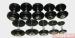 Цены на Matrix FDS - 2.5 - 50 Вес: 2.5 кгТип:разборныеУровень: для дома и фитнесаМатериал:металлРучка: хромированнаяДиски:обрезиненные