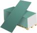 Цены на Гипсокартон Волма Влагостойкий гклв 1.2*2.5 м/ 9.5 мм Тип: Гипсокартон влагостойкий.Назначение: Гипсокартон (ГКЛ) используется для облицовки стен (толщиной 12,  5 мм) и потолков (толщиной 9,   5 мм),   в том числе и для помещений с повышенной влажностью.Свойства