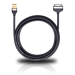 Цены на Кабель OEHLBACH 60049 Apple connector на USB,   длина 0.2m Цвет: Черный USB кабель для подключения к компьютеру устройств компании APPLE  -  IPhone,   Ipod,   Ipad (Всех поколений)