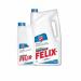 Цены на FELIX Антифриз FELIX EXPERT голубой 5кг Antifreeze FELIX Expert предназначен для охлаждения бензиновых и дизельных двигателей внутреннего сгорания легковых,   грузовых автомобилей и спецтехники,   в том числе,   эксплуатируемых в тяжелых условиях,   а также,   в ка