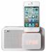 Цены на LG Док - станция LG ND1520 LG ND1520 обеспечивает первоклассное звучание,   отличается изящным компактным дизайном,   в корпусе белого цвета. Эта модель оснащена встроенным FM - радиоприемником,   LED - часами и будильником. Основные характеристики Звукмоно Суммарная