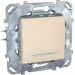 Цены на Выключатель c подсветкой Schneider Electric UNICA бежевый MGU5.201.25NZD