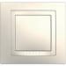 Цены на Рамка 1 пост с декоративным элементом Schneider Electric UNICA бежевая MGU2.002.25
