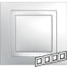 Цены на Рамка 4 поста с декоративным элементом Schneider Electric UNICA белая MGU2.008.18