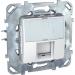���� �� ������������ ������� � ����� ��� ������� Schneider Electric UNICA 1xRJ45 ����� � ���.6 ����� MGU5.425.18ZD