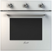 Цены на Fornelli Fornelli FEA 60 CORAGGIO WH Тип духового шкафа:независимый электрический Ширина,   см:60 Общий объем,   л:66,  5 Полезный объем,   л:56 Управление:3 поворотных переключателя