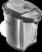 Цены на Redmond Redmond RTP - M802 термопот объем 5 л мощность 1200 Вт закрытая спираль стальной корпус выбор температуры нагрева воды дисплей индикация включения подсветка корпуса