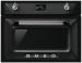 Цены на SMEG SMEG SF4920VCN электрическая независимая духовка 45.6 х 59.7 x 57.1 см приготовление на пару поворотные переключатели класс A +  по энергопотреблению дисплей конвекция гриль