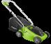 Цены на Электрическая газонокосилка GreenWorks 1200W (32 см) Мощность двигателя: 1200 Вт ;  Тип двигателя: электрический ;  Ширина обработки: 32 см ;  Корзина для травы: есть,   40 л ;  Материал: abc - пластик ;  Вес без упаковки: 6.9 кг.