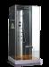 Цены на Душевая кабина Wasserfalle W - 6003А Габариты 80х80х215 см Европейское качество,   современный немецкий дизайн и долговечность. Wasserfalle W - 6003A  -  это закрытая кабина квадратной формы с низким поддоном,   компактных размеров 80 на 80 см,   оборудованная систем