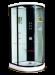 Цены на Душевая кабина LanMeng (ЛанМенг) LM833 угловая,   полукруглая,   с низким поддоном,   размер 98х98 см 98х98х213 см Современный дизайн,   мощное ударопрочное стекло,   надежный поддон с антискольжением,   удобное сиденье. LanMeng LM832AG  -  это закрытая угловая гидрома