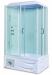 Цены на Душевая кабина LanMeng (ЛанМенг) LM - 874 прямоугольная с ванной,   угловая,   с глубоким поддоном,   размер 120х85 см 120х85х219 см Стиль «хай тек»,   ручное управление функциями,   мощное ударопрочное стекло,   надежный поддон с антискольжением,   удобное встроенное си