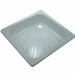 Цены на Поддон для душа River стальной квадратный (80 см) Габариты: 80х80х13 см Материал: сталь,   эмаль