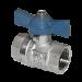 """Цены на Кран шаровой 1/ 2"""" вн - вн (бабочка) Кран шаровой латунный Ду15 для систем водоснабжения,   отопления,   кондиционирования и воздуха. Шаровые краны предназначены для перекрытия потока перемещаемой по трубопроводам среды —  воды или этиленгликолевых рас"""