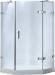 Цены на Timo BY - 839M - 100 душевой угол 1000x1000x2000 Акриловый пятиугольный поддон с сифоном и усиленным каркасом. Закаленное ударопрочное стекло толщиной 8 мм (прозрачное или матовое) Хромированные петли из нержавеющей стали. Магнитный уплотнитель. Ручка.