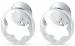 """Цены на Серьги """" Star Collection""""  Montblanc 102538 Серьги серебро"""