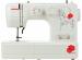 Цены на JANOME Швейная машина Janome My Style 101 My Style 101 Обладающая изысканными и эффектными внешними данными швейная машина Janome My Style 101 станет прекрасным дополнением к арсеналу домашней мастерской любой швеи. В конструкции предусмотрен практичный г