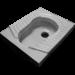 Цены на Унитаз Оскольская керамика Чаша Генуя белый напольный Оскольская Керамика Чаша Генуя белый