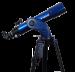 Цены на Телескоп Meade StarNavigator NG 102 мм (с пультом AudioStar) MEADE StarNavigator NG 102 мм это качественный рефрактор,   установленный на альт - азимутальной монтировке. Он имеет удобную систему компьютерного управления и может стать прекрасным проводником по