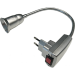 Цены на Ecola base Переходник вилка - патрон E27 гибкий 300мм c выключателем Серебряный Ecola Ecola base Переходник вилка - патрон E27 гибкий 300мм c выключателем Серебряный