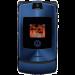 Цены на Motorola Motorola RAZR V3i Blue Для всех ценителей необычного подхода к дизайну и внешнему оформлению телефонов предназначена сверхпопулярная модель Motorola V3i в стильном корпусе. Этот раскладной аппарат с двумя дисплеями,   основной из которых имеет диаг