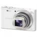 """Цены на Цифровая фотокамера Sony Cyber - shot DSC - WX350 White компактная фотокамера,   матрица 21.1 МП (1/ 2.3""""),   съемка видео Full HD,   оптический зум 20x,   экран 3"""",   Wi - Fi,   вес камеры 164 г"""