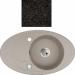 Цены на Kuppersberg Кухонная мойка Kuppersberg CAPRI 1B1D BLACK Внешние размеры 780 x 470 x 210 Размеры чаши 403 База встраивания 45 см Материал Kuppersberg Rok Цвет черный Материал Гранит