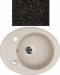 Цены на Kuppersberg Кухонная мойка Kuppersberg CAPRI 1B1D S BLACK Внешние размеры 580 x 470 x 210 Размеры чаши 372 мм База встраивания 45 см Сливное отверстие на 3 ,   круглый перелив в чаше Оборачиваемость: Оборачиваемая,   с двумя предварительно просверленными техн