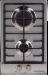 Цены на Kuppersberg Газовая варочная панель Kuppersberg FV3TG X Газовая поверхность «Домино» Ширина 30 см 2 газовые конфорки: – передняя 1 кВт – задняя 3 кВт Конфорка повышенной мощности Автоматический электроподжиг Газ - контроль