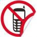 """Цены на Запрещающая двухсторонняя наклейка """"Пользоваться мобильными телефонами запрещено"""" Наклейка 150 мм (Мобильный двухсторонняя) Предназначена для специальных мест и участков,   где пользование мобильным может навредить радиоприборам и технике,   а так являться не"""