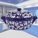 Цены на Кастрюля керамическая GP 2,  5 л Кастрюля керамическая GP 2,  5 л Красивая кастрюля из жаростойкой керамики станет незаменимым помощником на кухне для любой хозяйки. Белые декорированные цветы на синей кастрюле подчеркивают ее уникальный дизайн. Теперь не вст