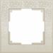 Цены на Werkel Рамка Flock на 1 пост слоновая кость Werkel (1022949) 1022949 Серия: Flock Слоновая Кость;  Бренд: Werkel;  Страна: Швеция;  Цвет: Бежевый;