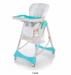 Цены на Стульчик Baby Care Love Bear blue Baby Care Love Bear  -  стульчик для кормления со съемной столешницей. Сидение устанавливается в 6 - ти положениях по высоте. Наклон спинки и подножки регулируется практически до горизонтального положения. Стульчик легко скла