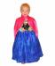 Цены на Disney Платье Анны Холодное Сердце (4 - 5 лет (рост 110 - 120 см)) В комплекте яркая розовая накидка,   обработанная золотистой тесьмой Накидка застегивается на липучку,   поверх застежки пришита синяя брошь Лиф черного цвета с узорчатым рисунком,   выполнен из бар