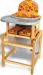 Цены на Вилт Стульчик для кормления Вилт Стд 07 пластиковая столешница Желтый СТД0704 ВИЛТ Стул - стол для кормления СТД 07 пластиковая столешница Стол - стул с регулируемой пластиковой столешницей. Надежный и максимально безопасный легко превращается из высокого сту