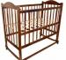 Цены на Ивашка Кровать Ивашка Мой малыш 5 темный Кроватка детская Ивашка 5 является самой простой моделью в линейке детских кроватей Ивашка. Кроватка выполнена из материала береза. Береза обладает низкой смолистостью и высокой прочностью,   что делает ее превосходн