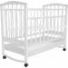 """Цены на Агат Кровать Агат Золушка - 2 52104 Белый Кровать детская """" Золушка - 2""""   -  отличный вариант для самых сладких снов. Вашему крохе будет комфортно в этой кроватке,   так как она выполнена из экологически чистых материалов. Классическая кроватка подходяща"""