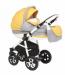 """Цены на Adamex Коляска Adamex """" ALEX"""" ,   (серый + желтый + белый 31P) Сезон: ВсесезонныйЦвет: серый + желтый + белыйСтрана - производитель: ПОЛЬШАМеханизм складывания: книжкаКоличество колес: 4Тип колес: надувныеРемни безопасности: 5 - ти точечныеЧисло положений спинк"""