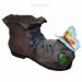 Цены на Кашпо декоративное Ботинок великана с бабочкой L43W26H25 см