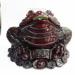 Цены на Фигурка декоративная Жаба с монеткой,   L13 W13 H11см,