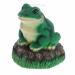 Цены на Изделие декоративное Лягушка на камне,   H22 см