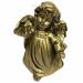 Цены на Фигура декоративная Ангел с фонариком (цвет сусальное золото),   L11W8H15 cм