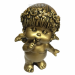 Цены на Фигура декоративная Ангел (цвет сусальное золото),   L10W8,  5H14,  5 cм