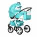 Цены на Caretto (Польша) Коляска ADRIANO 2в1 (Caretto),   Ad 08 (бирюза + бел.кожа) Среди модульных колясок эконом - сегмента ADRIANO выделяется исключительностью исполнения и высокой функциональностью. Кроме того,   классически - сдержанным дизайном. Спальный блок об